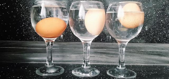 Бърз и лесен трик за определяне годността на яйцата