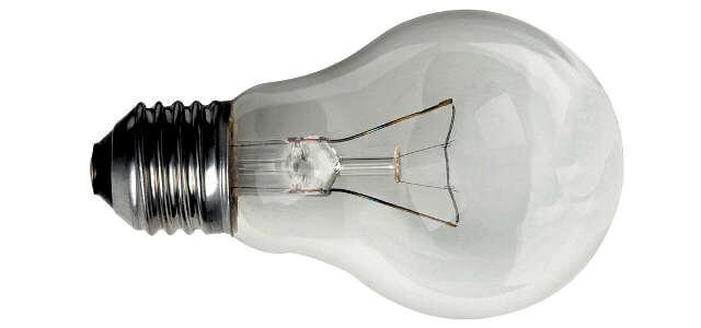 Лампа с нажежаема жичка