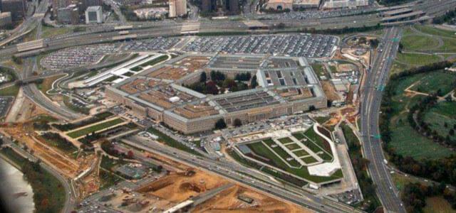 Резултат с изображение за построяването на Пентагона.